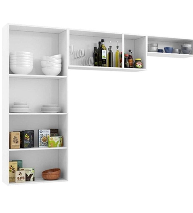 Cozinha Compacta Novita - Preto - Telasul