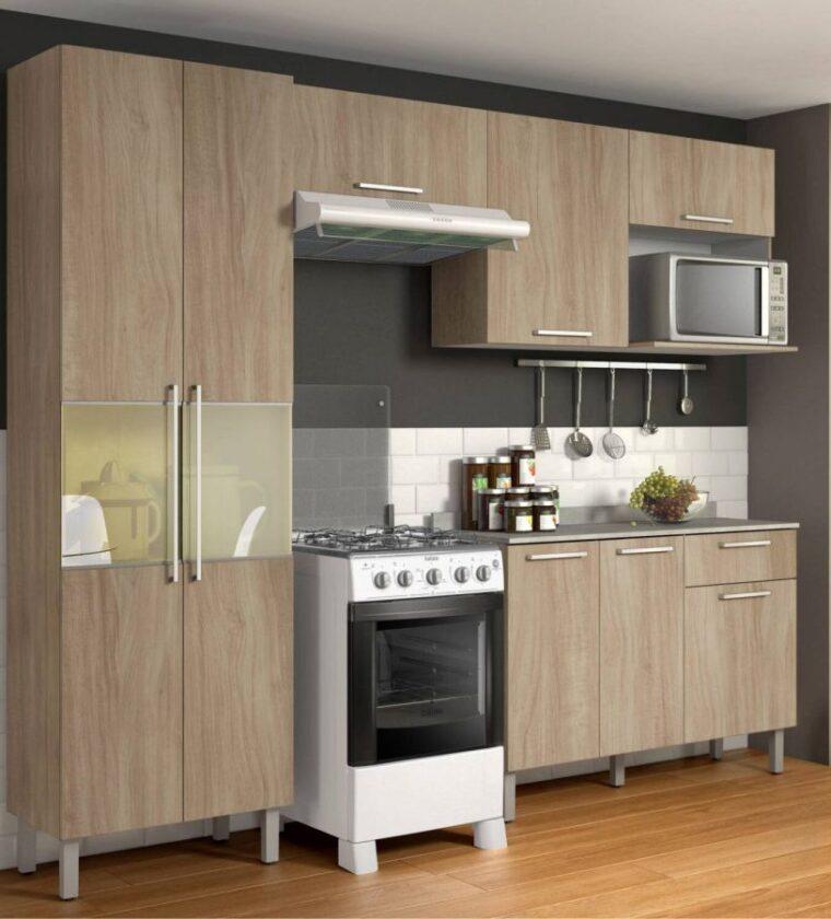 Cozinha Star Castanho- Itatiaia