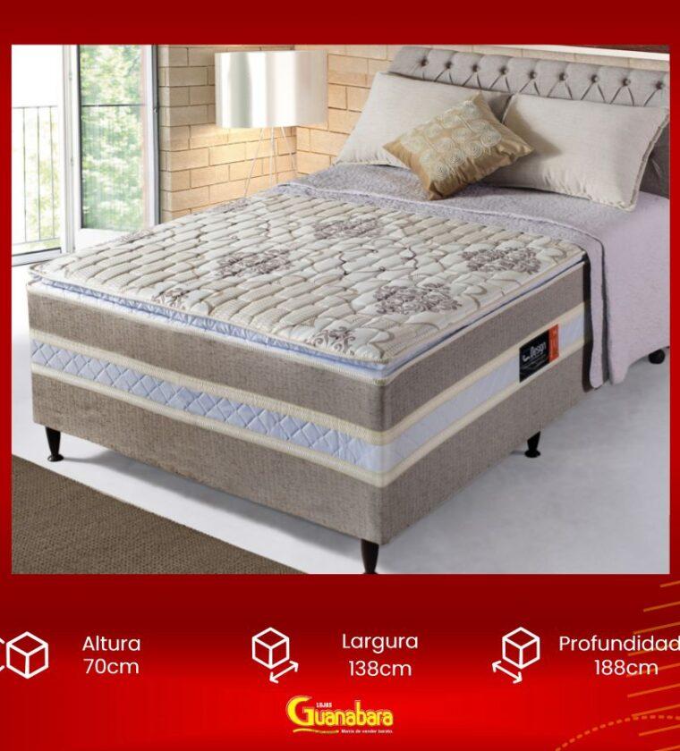 Cama Box Casal Onix - Design