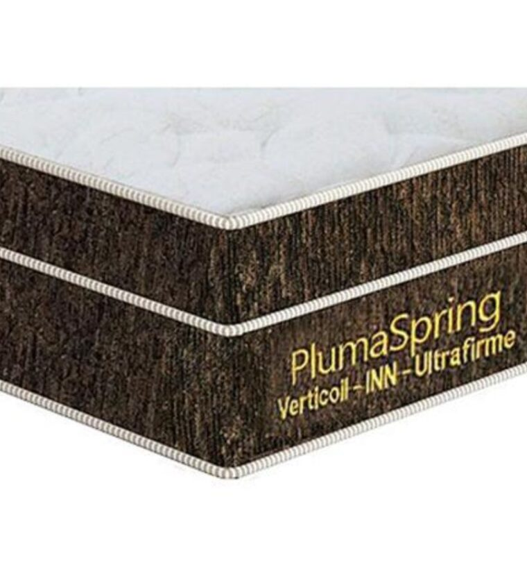 Colchão Casal Plumaspring - Marrom - Plumatex