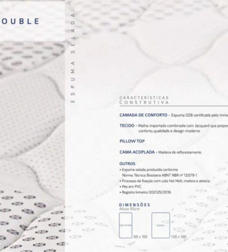 Cama Box Casal Double - Design