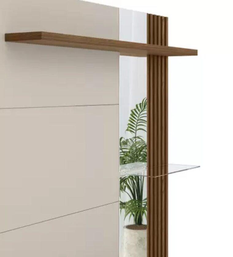 Painel Home Maragogi - Freijo/Off White - Linea Brasil