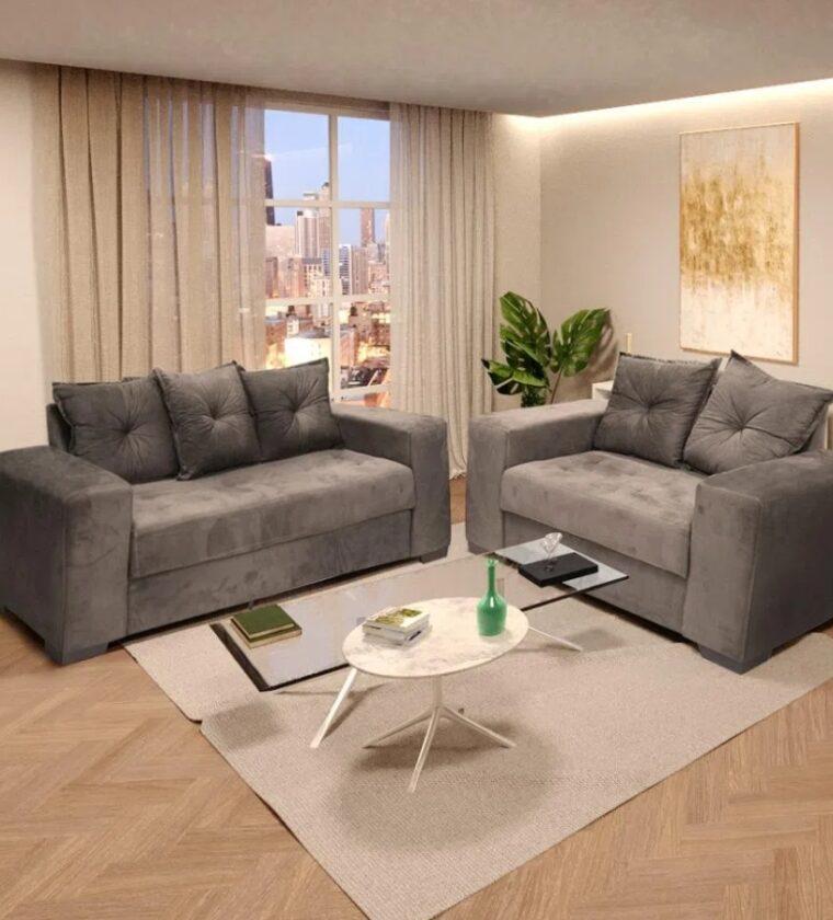 Conjunto Siena 2x3 lugares - Design